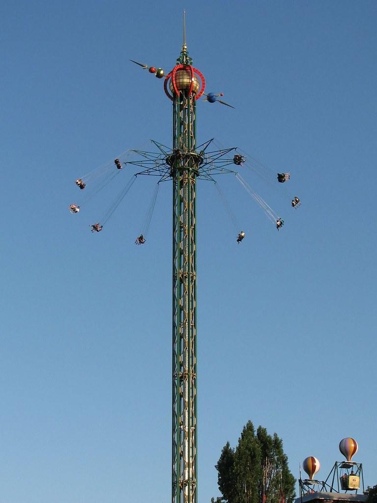 attraction himmelskibet The Star Flyer - Jardin de Tivoli