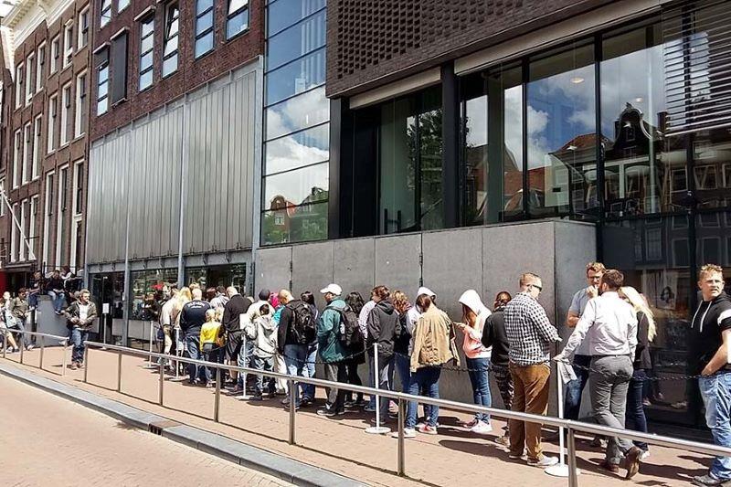 musée Anne Frank billet