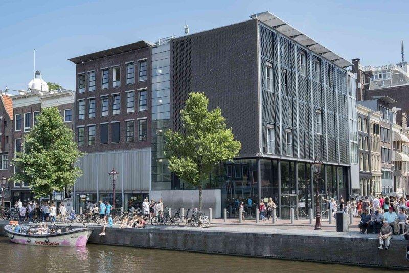 musée Anne Frank extérieur - Amsterdam