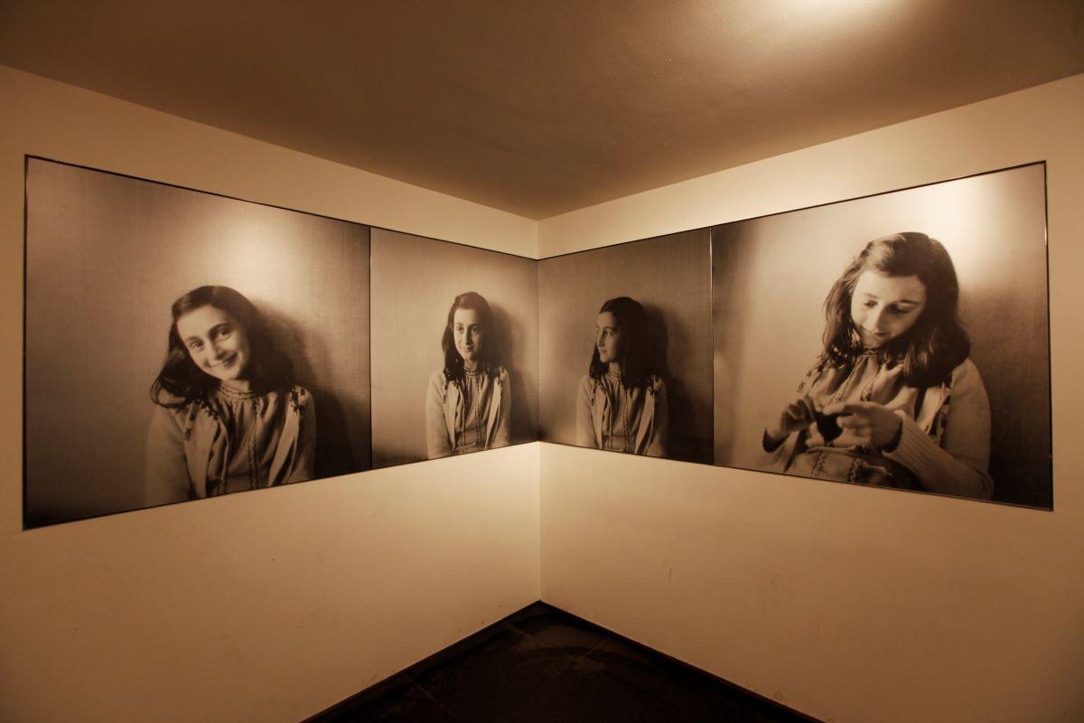 musée Anne Frank intérieur - Amsterdam
