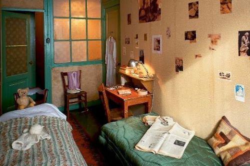 chambre Anne Frank Amsterdam