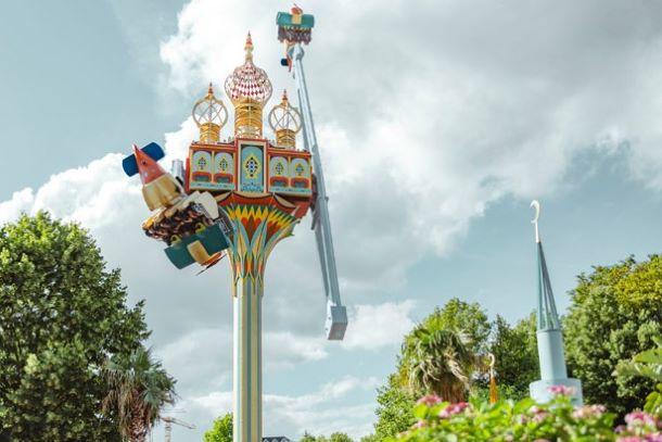Vertigo manège centrifugeuse - Jardin de Tivoli