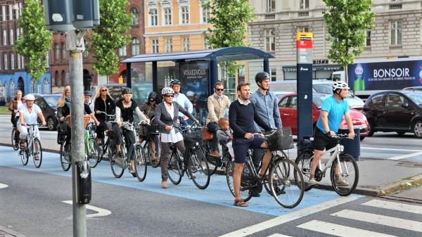 vélos Copenhague - visiter le Danemark