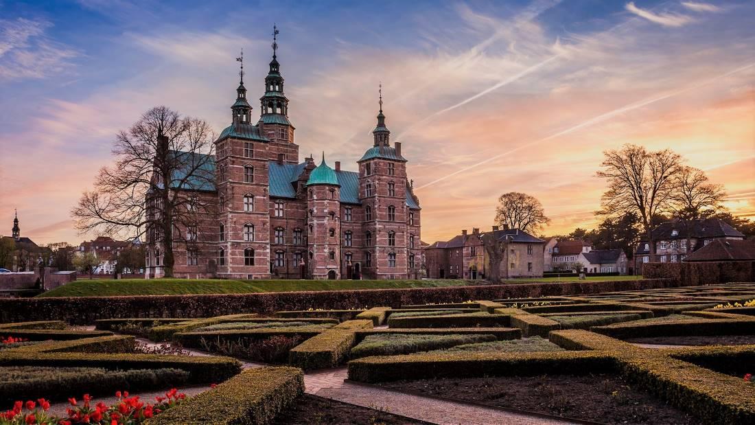 le château de Rosenborg - Rosenborg Slot Copenhague