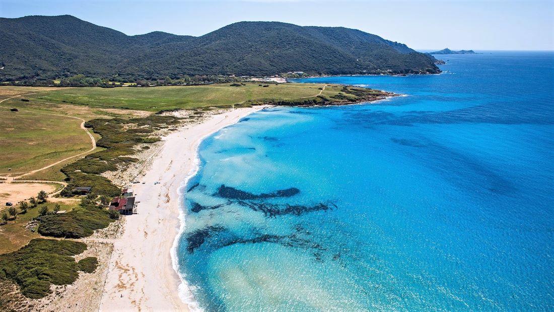 Plage de Capo di Feno - Plus belles plages Corse