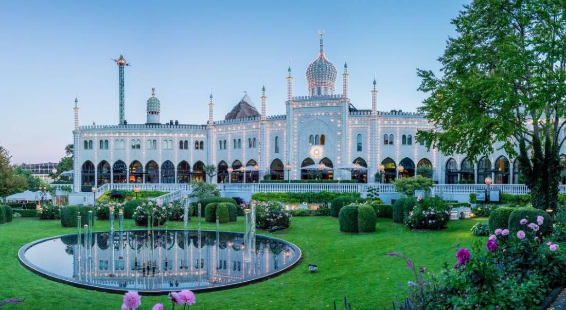 les jardins de Tivoli - Copenhague