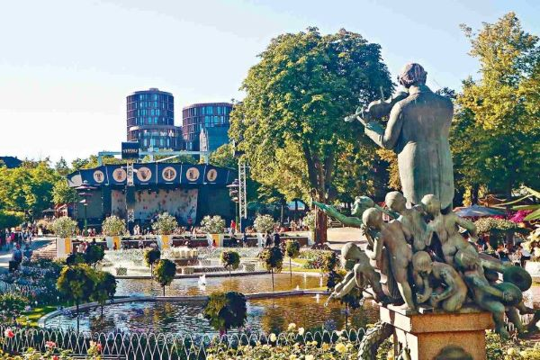 Que faire à Copenhague ? Les jardins de Tivoli