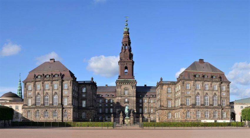 Christiansborg Slot, le château de Christianborg à Copenhague