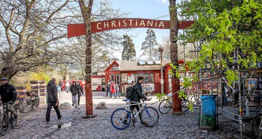 le quartier de Christiania - Que faire à Copenhague ?