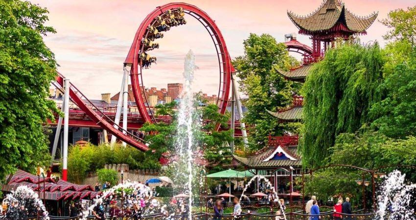 Jardin de Tivoli - Que faire à Copenhague ?