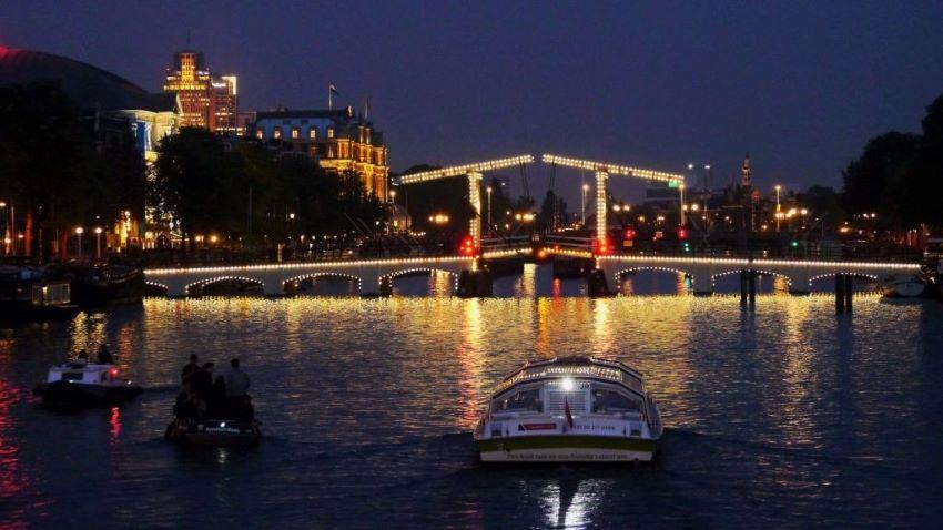 La Magere Brug - pont d'Amsterdam