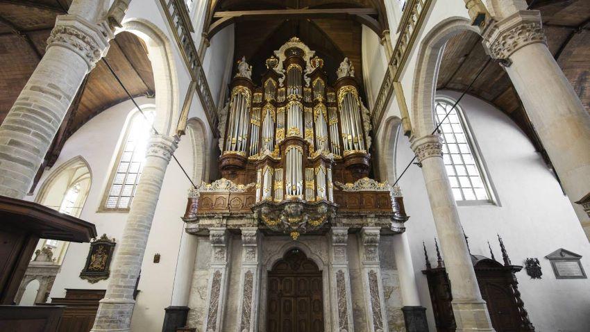 oude kerk amsterdam orgue
