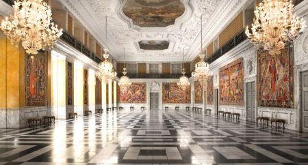salle de réception royale - résidence royale de Christiansborg