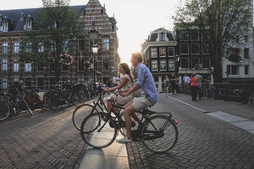 Amsterdam - pistes cyclables