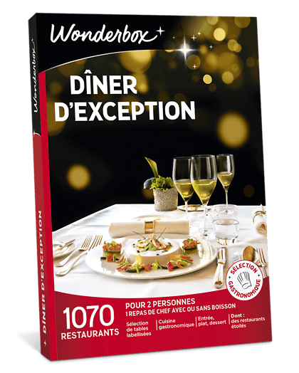 box dîner d'exception prix