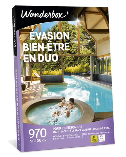 Wonderbox week-end en couple