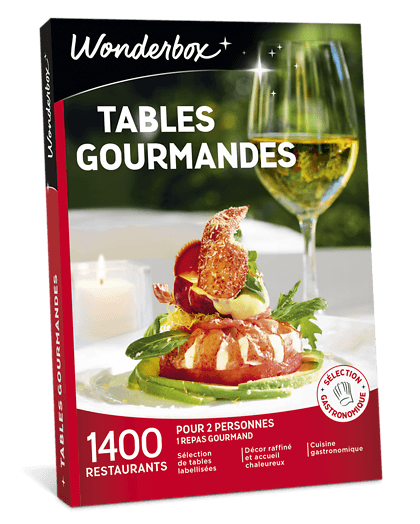 Wonderbox Tables gourmandes avis