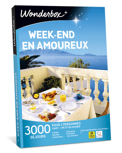 Wonderbox week end en amoureux
