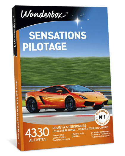 Wonderbox pilotage voiture de luxe avis