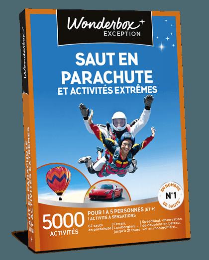 Wonderbox saut en parachute