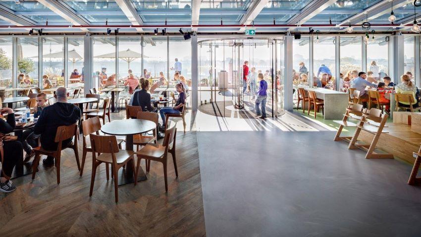 NEMO Amsterdam - Rooftop restaurant