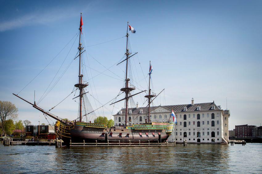 musée national maritime Amsterdam