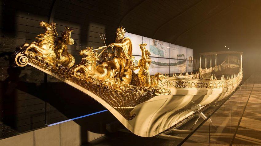La barge royale de Guillaume Ier - musée Amsterdam