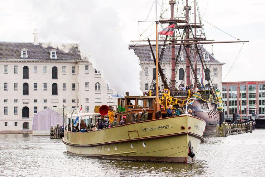 Le Christiaan Brunings - musée maritime Amsterdam