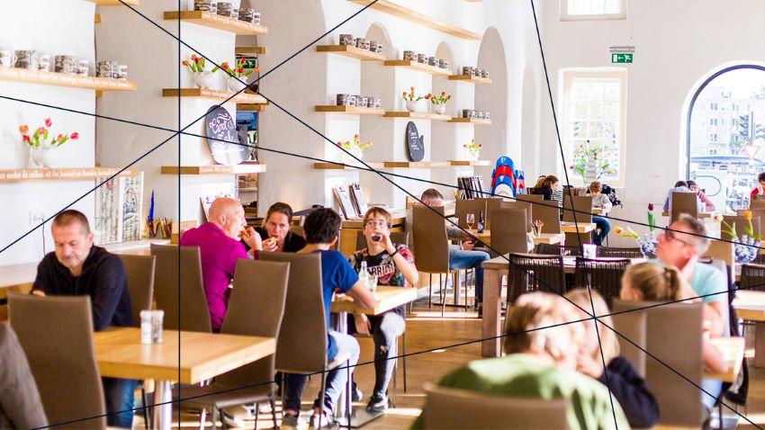 Musée maritime Amsterdam - restaurant