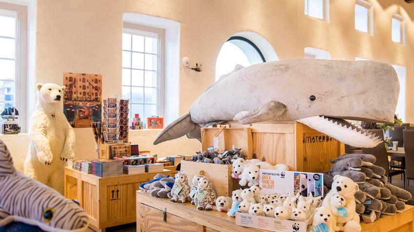 Boutique du musée de la marine d'Amsterdam