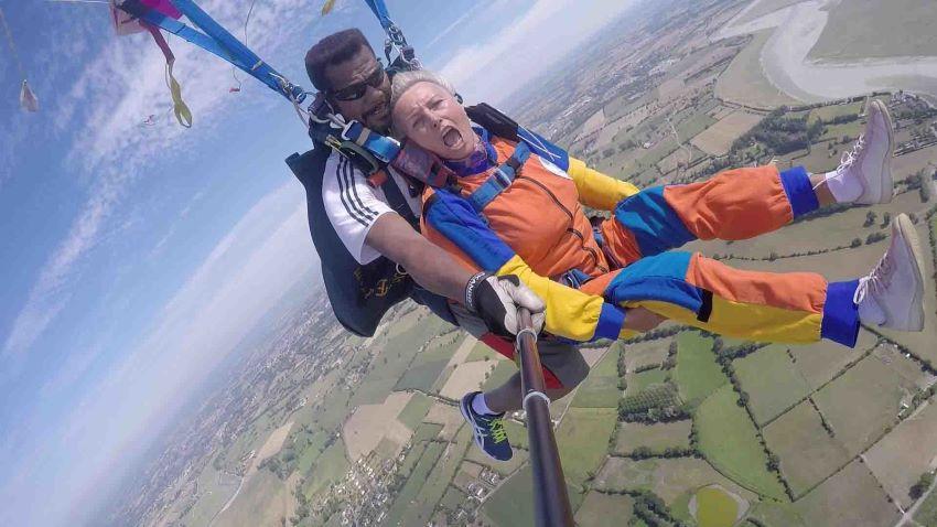 offrir un saut en parachute en tandem - avis