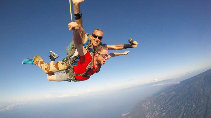 préparer son saut en parachute
