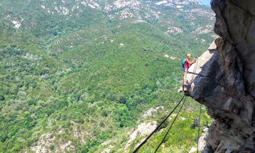 Via ferrata Chisa - Haute-Corse