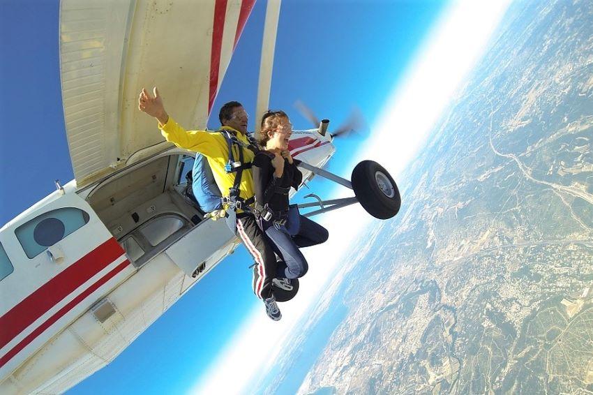 saut en parachute tandem Montpellier