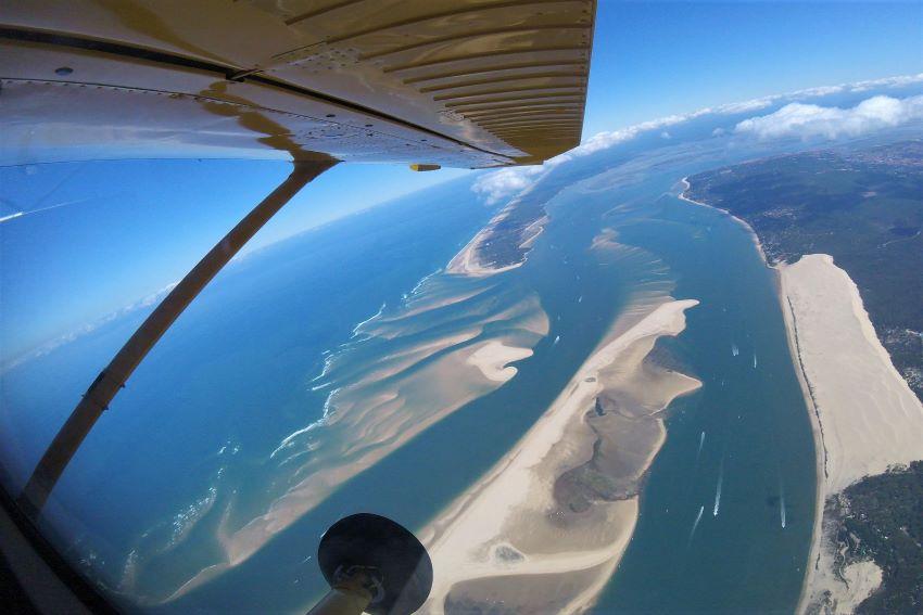 saut en parachute Arcachon près de Bordeaux