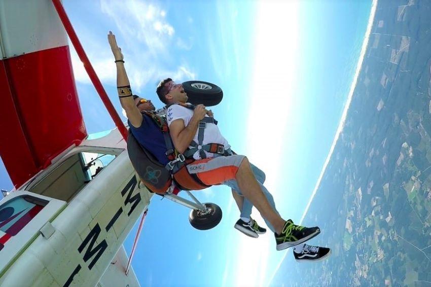 saut en parachute Mimizan