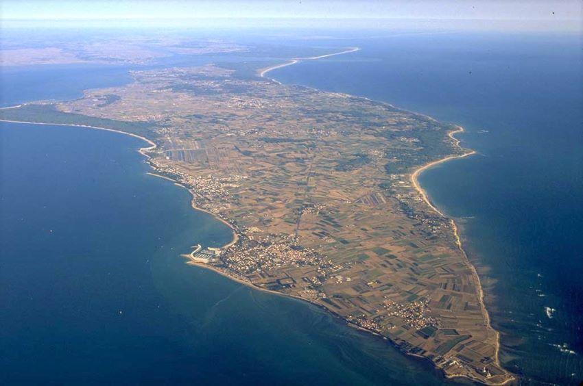 L'île d'Oléron vue du ciel