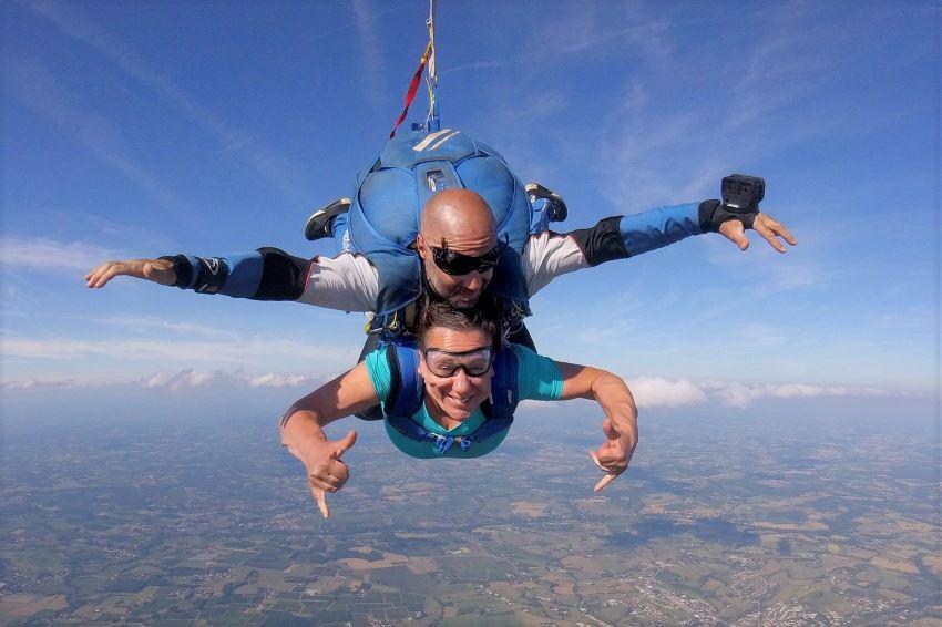 saut en parachute Bordeaux La Réole