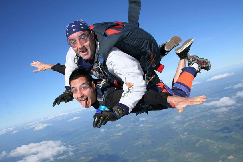 saut en parachute autour de Lyon
