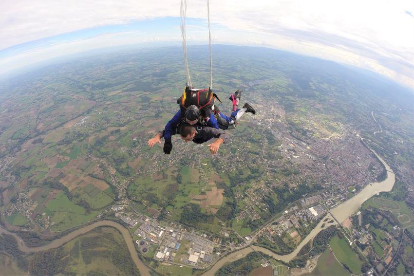 saut en parachute Vichy-sur-Allier