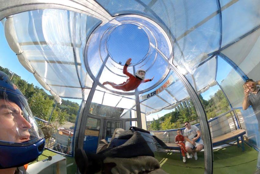 Bayonne : simulateur de chute libre