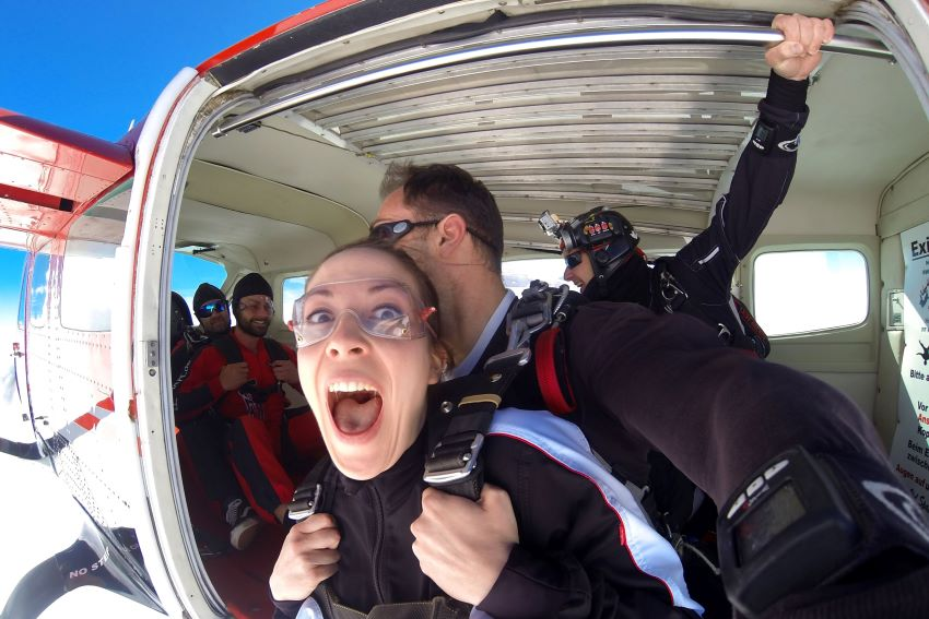 saut en parachute aéroport Grenoble - Isère