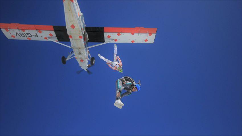 formation PAC chute libre - stage saut en parachute