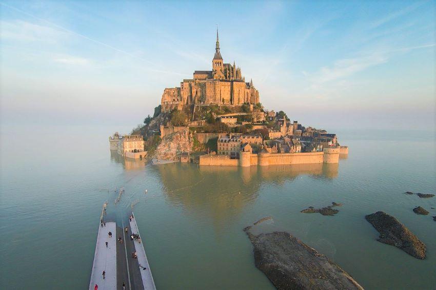 Le Mont-Saint-Michel marée haute