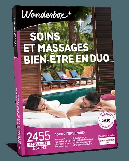 Wonderbox Soins et massages bien-être en duo