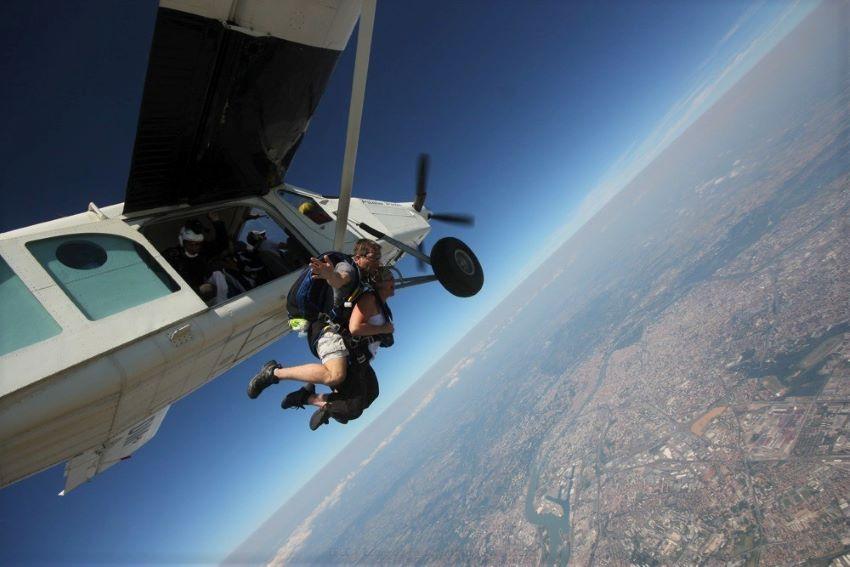 saut en parachute Lyon - Corbas