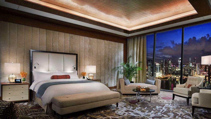 hôtel de luxe - surclassement gratuit