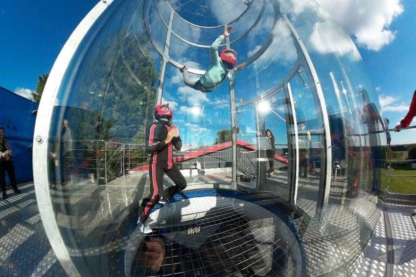simulateur de chute libre à Chalon-sur-Saône proche de Lyon