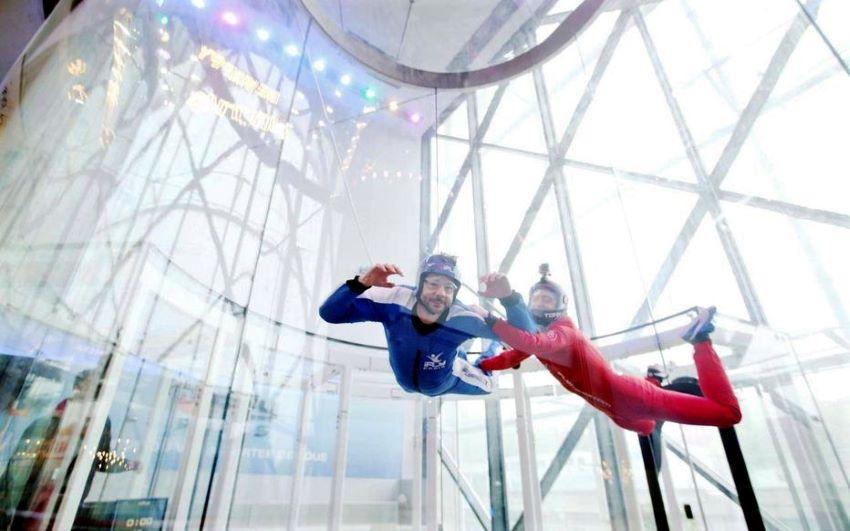 simulateur de chute libre Paris - La Villette